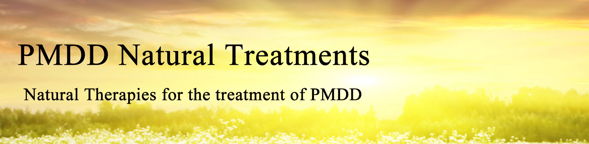 Natural Remedies For Depression During Pms